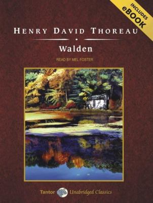 Walden: Library Edition  2008 9781400136933 Front Cover
