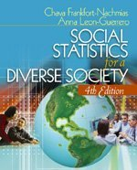 Social Statistics for a Diverse Society with SPSS Student Version  4th 2006 (Revised) 9781412917933 Front Cover