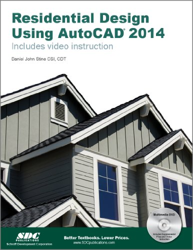 Residential Design Using AutoCAD 2014  N/A edition cover