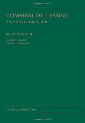 Commercial Leasing A Transactional Primer 2nd 2011 edition cover