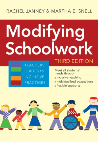 Teachers' Guides to Inclusive Practices Modifying Schoolwork, Third Edition 3rd 2013 edition cover
