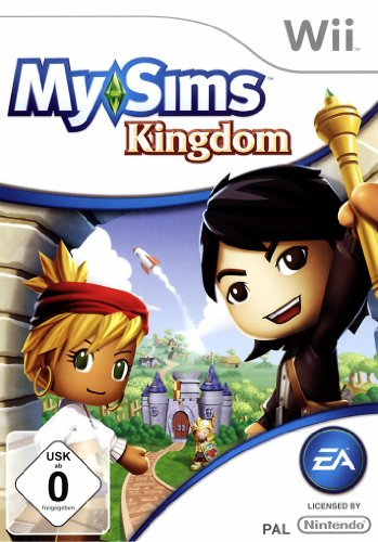 My Sims Kingdom [Software Pyramide] Nintendo Wii artwork