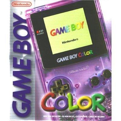 Game Boy Color - Atomic Purple Game Boy Color artwork