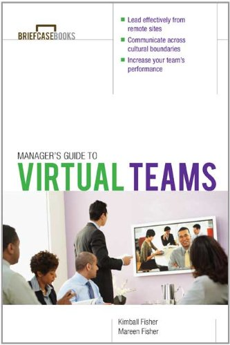 Manager's Guide to Virtual Teams   2011 9780071754934 Front Cover