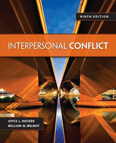 Interpersonal Conflict  9th 2014 edition cover