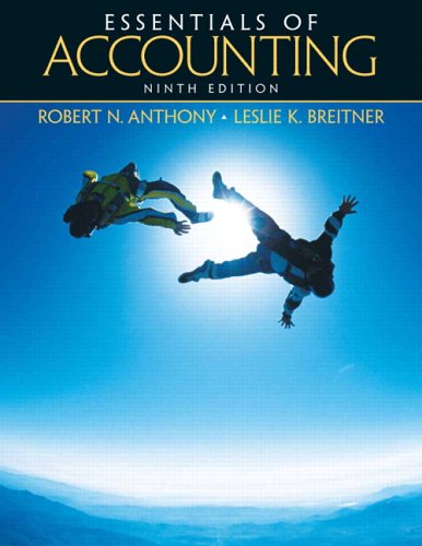 Essentials of Accounting  9th 2006 (Revised) 9780131496934 Front Cover