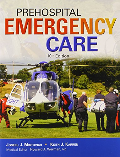 Prehospital Emergency Care and Workbook Package  10th 2014 edition cover