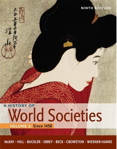 History of World Societies - Since 1450  9th 2012 edition cover