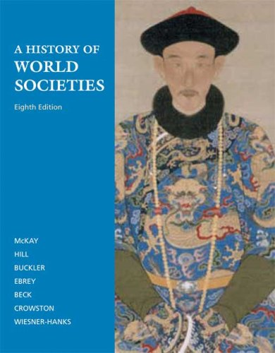 History of World Societies  8th 2009 edition cover