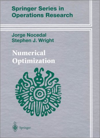 Numerical Optimization   2000 9780387987934 Front Cover