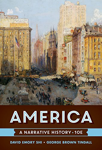 America: A Narrative History 10th 2016 9780393265934 Front Cover