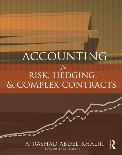 Accounting for Risk, Hedging and Complex Contracts   2014 edition cover