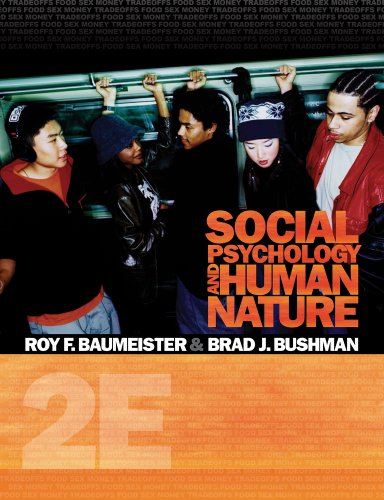 Cengage Advantage Books: Social Psychology and Human Nature  2nd 2011 edition cover