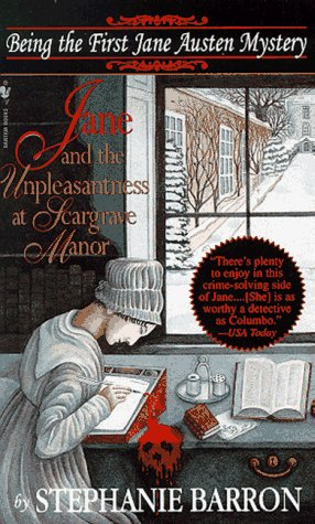Jane and the Unpleasantness at Scargrave Manor   1996 edition cover