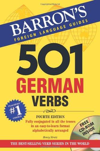 501 German Verbs  4th 2008 edition cover