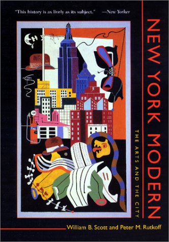 New York Modern The Arts and the City  1999 edition cover