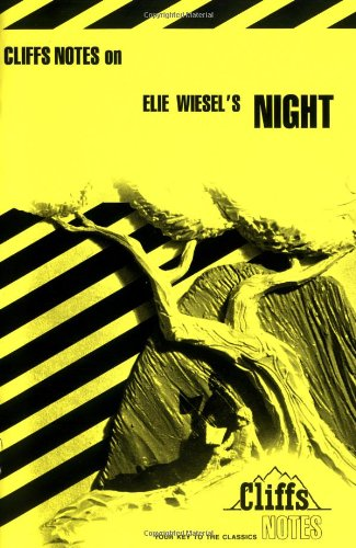 CliffsNotes on Wiesel's Night   1996 edition cover