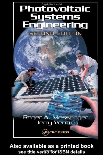 Photovoltaic Systems Engineering  2nd 2004 (Revised) 9780849317934 Front Cover