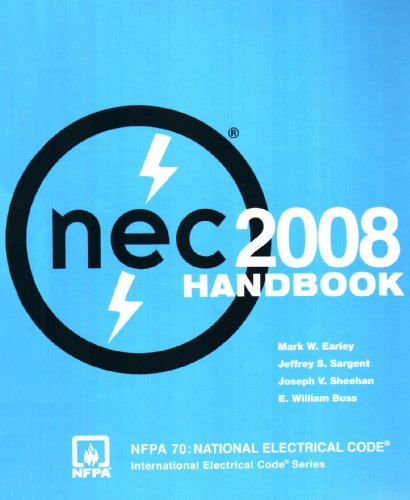 National Electrical Code 2008 Handbook   2008 edition cover