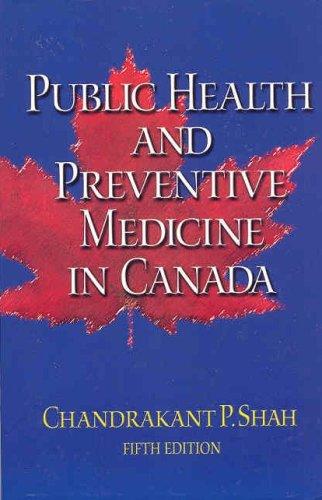 Public Health and Preventive Medicine in Canada  5th 2003 edition cover