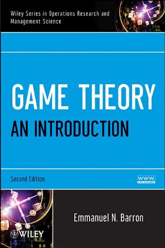 Game Theory An Introduction 2nd 2013 9781118216934 Front Cover