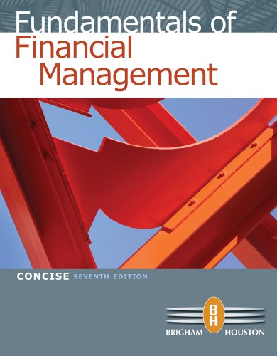 Fundamentals of Financial Management, Concise Edition + Aplia Printed Access Card, Concise + Aplia Edition Sticker 7th edition cover