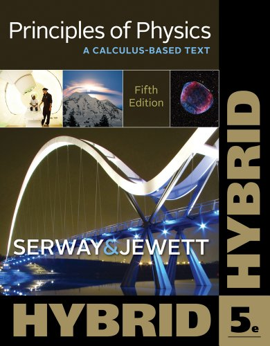 Principles of Physics A Calculus-Based Text, Hybrid 5th 2013 edition cover