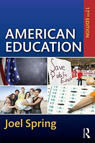 American Education  17th 2016 (Revised) 9781138850934 Front Cover