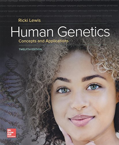 Human Genetics  12th 2018 9781259700934 Front Cover