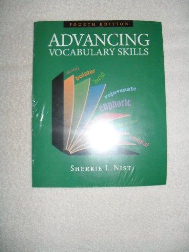 Advancing Vocabulary Skills   2009 edition cover