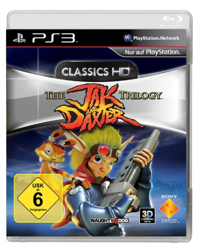 The Jak and Daxter Trilogy [Classics HD] PlayStation 3 artwork