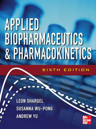 Applied Biopharmaceutics and Pharmacokinetics  6th 2013 edition cover