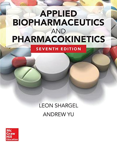 Applied Biopharmaceutics & Pharmacokinetics:   2015 edition cover
