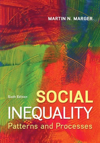 Social Inequality: Patterns and Processes  2013 9780078026935 Front Cover