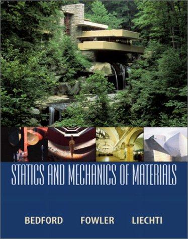 Statics and Mechanics of Materials   2003 edition cover