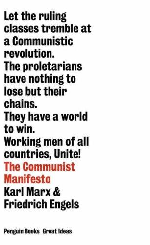 Communist Manifesto N/A edition cover