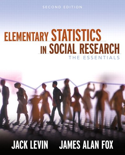 Elementary Statistics in Social Research The Essentials 2nd 2007 (Revised) edition cover