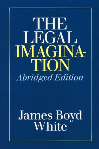 Legal Imagination  2nd 1985 (Abridged) edition cover