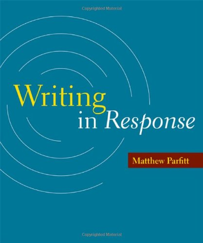 Writing in Response   2012 edition cover