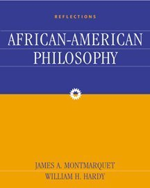 Reflections An Anthology of African-American Philosophy  2000 9780534573935 Front Cover