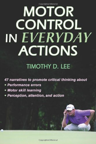 Motor Control in Everyday Actions   2011 edition cover