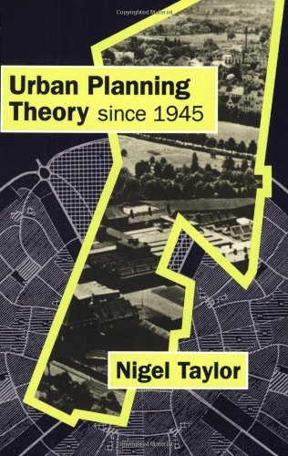 Urban Planning Theory since 1945   1998 edition cover