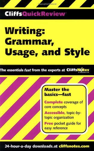 Writing Grammar, Usage, and Style  2001 (Revised) edition cover