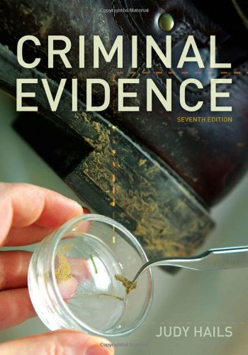 Criminal Evidence  7th 2012 9781111346935 Front Cover