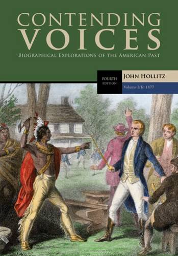 Contending Voices: To 1877  2016 edition cover