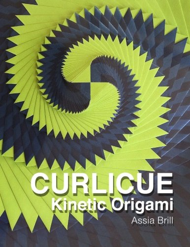 Curlicue: Kinetic Origami  2013 edition cover