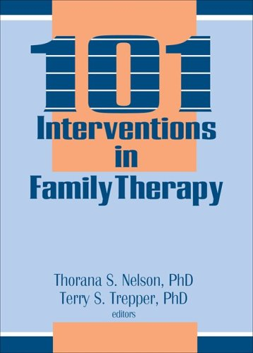 101 Interventions in Family Therapy   1993 9781560241935 Front Cover