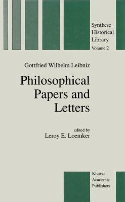 Philosophical Papers and Letters A Selection 2nd 1989 (Revised) edition cover