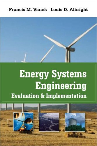 Energy Systems Engineering Evaluation and Implementation  2008 edition cover