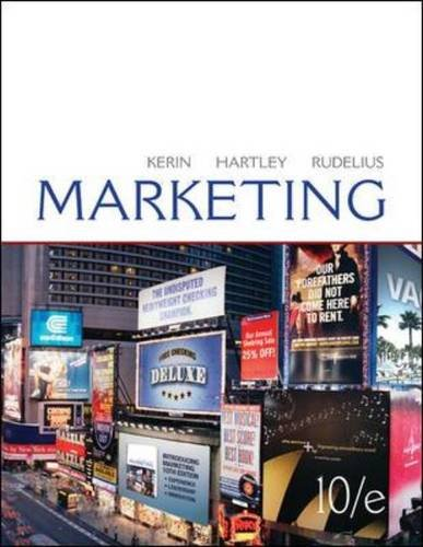 Marketing  10th 2011 edition cover